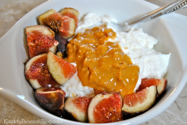 Greek Yogurt Figs & Coconut Peanut Butter