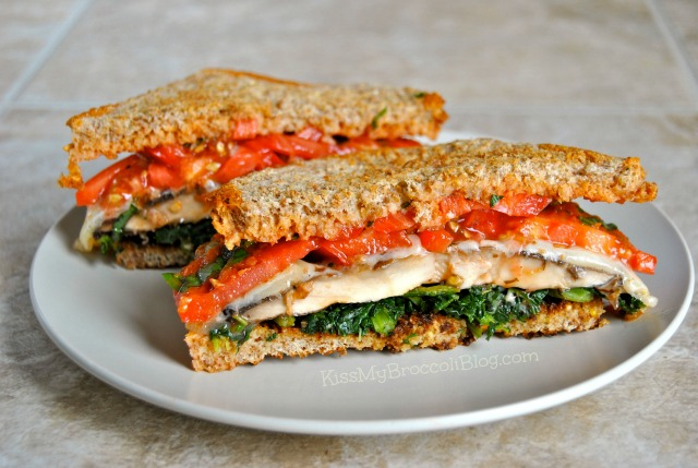 Roasted Portobello Sandwich