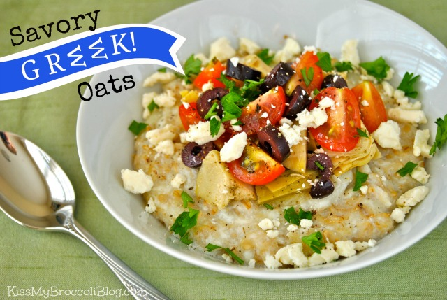 Savory GREEK Oats!
