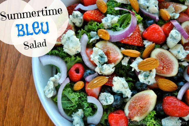 Summertime Bleu Salad by Kiss My Broccoli