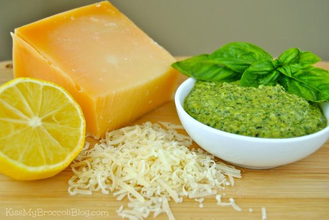 Traditional Basil Pesto with Lemon from Kiss My Broccoli