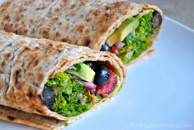 Berry Kale & Avocado Wrap