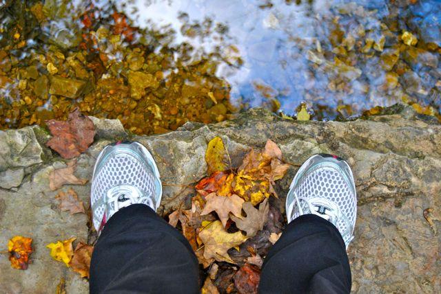 Fall Walk in the Park - Feet