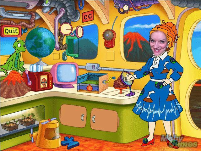 Me as Ms. Frizzle