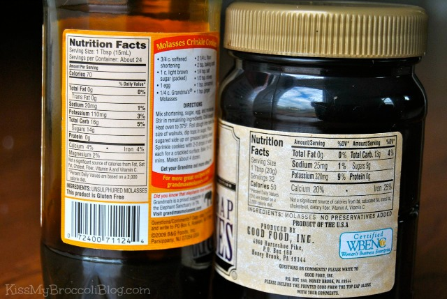 Molasses Nutrition Facts