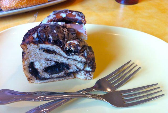 Panera Bread Chocolate Babka Dessert