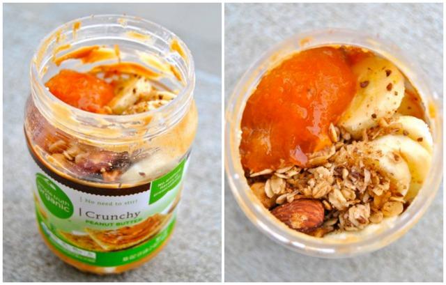 Peanut Butter Cottage Cheese in a Jar (CCIAJ)