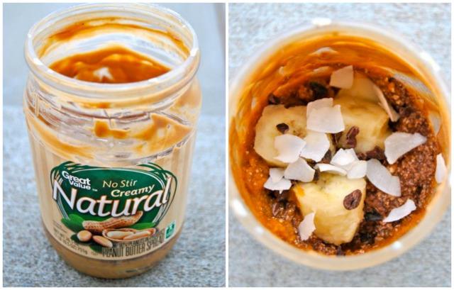 Peanut Butter Tofana in a Jar (TIAJ)
