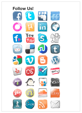 Social Media Widget Icons