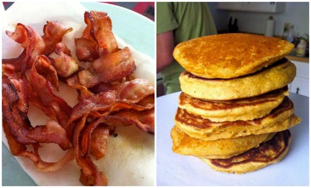 Bacon & Pancakes