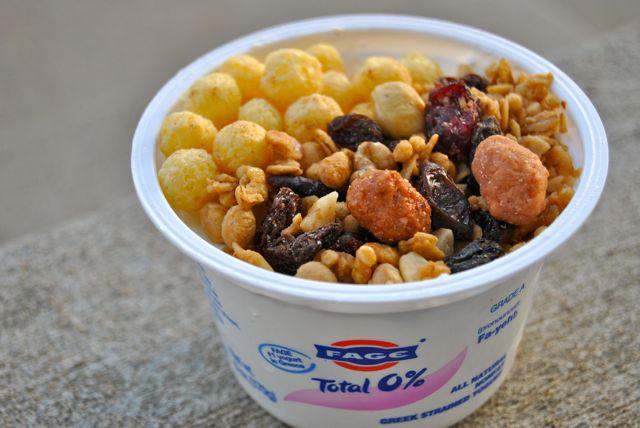 Greek Yogurt + Cereal + Grail Mix