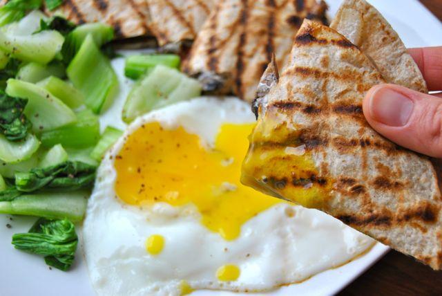 Quesadilla Egg Dip