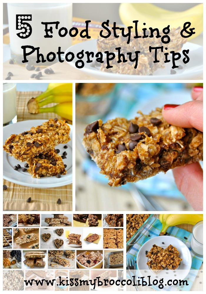 5 Food Styling & Photography Tips from www.kissmybroccoliblog.com