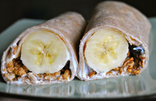 Breakfast Banana Wrap