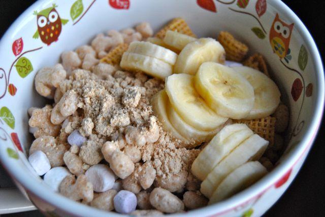 Cereal Banana Peanut Flour