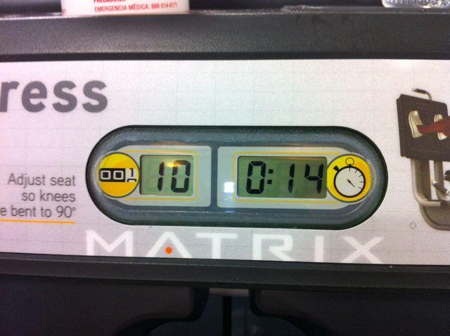 Gym Leg Machine Rep Counter