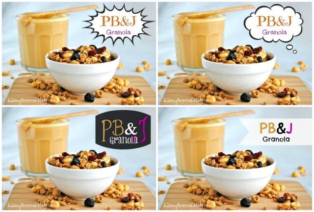 PB&J Granola PicMonkey Labels