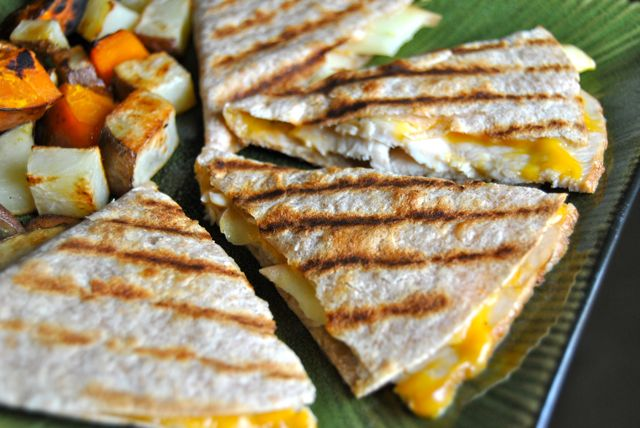 Tortilla Quesadilla 2