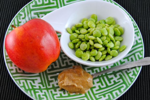 Lima Beans Apple & Caramel Apple Cashew Butter
