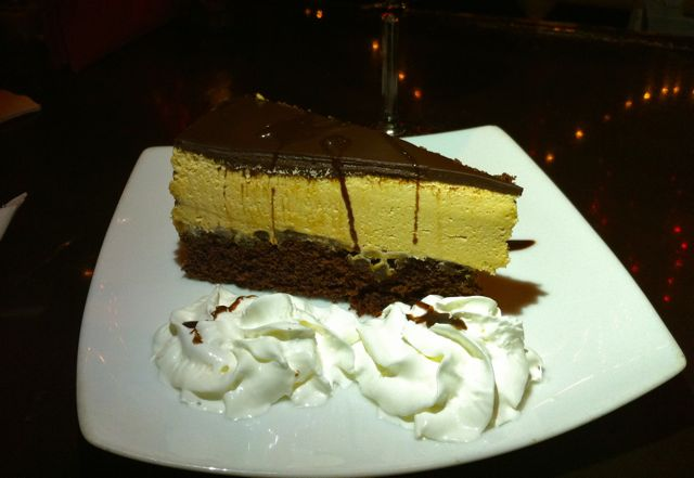Peanut Butter Mousse Chocolate Cake
