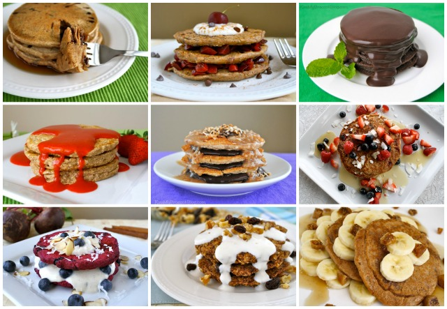 Vegan Pancake Roundup from www.kissmybroccoliblog.com
