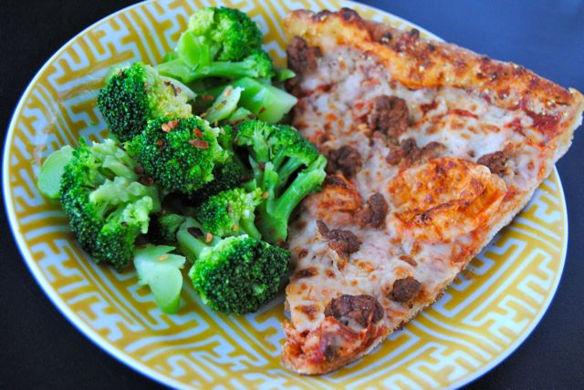 Pizza & Broccoli