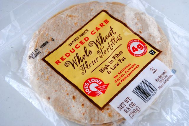 Trader Joes's Whole Wheat Tortillas