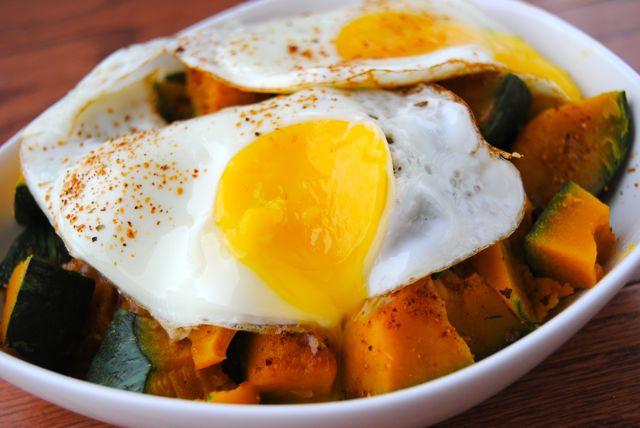 Kabocha + Eggs + BBQ PB&J