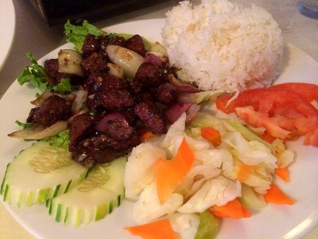 Shaken Beef from Chateau de Saigon in Atlanta