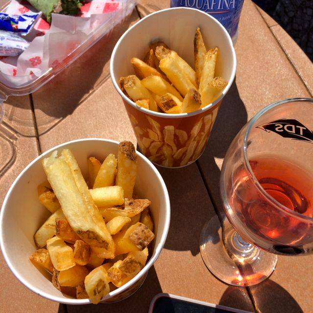 French Fries & Wine