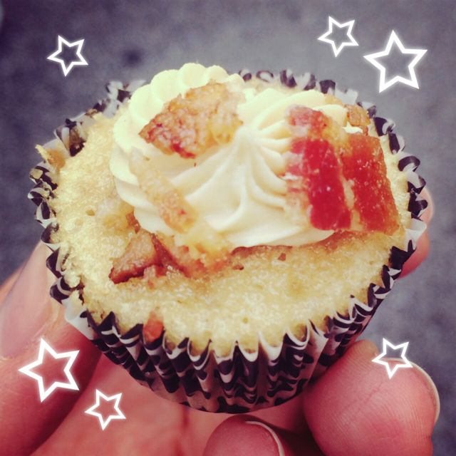 Maple Bacon Cupcake