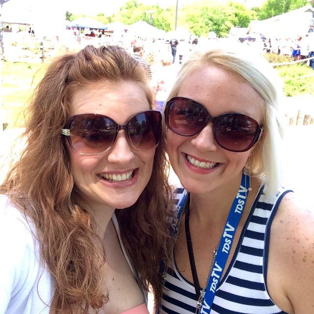 Wine Fest - Me & Cheryl 1
