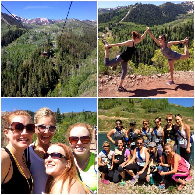 Blend 2014 - Gondola, Hike, Mountain Yoga