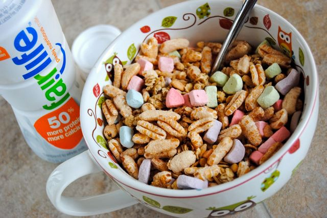 Cereal with Fairlife Milk