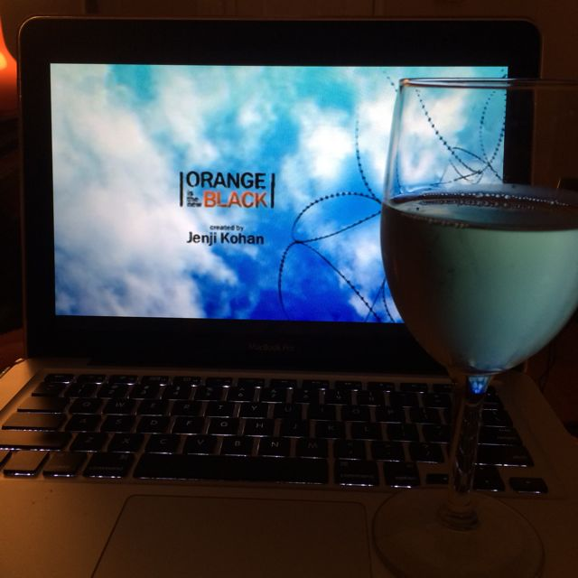 Orange is the New Black + Wine