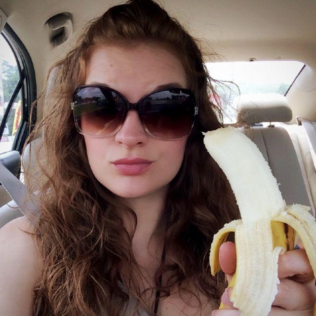 Public Banana Selfie