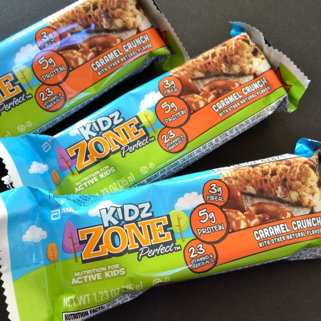 Caramel Crunch Zone Bars