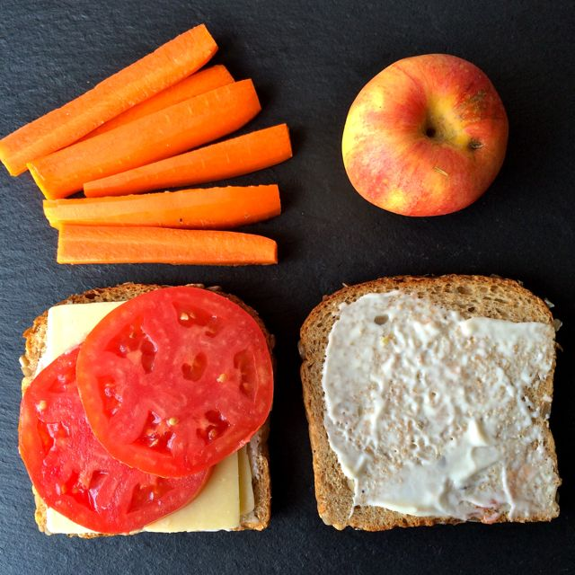 Cheese & Tomato Sandwich