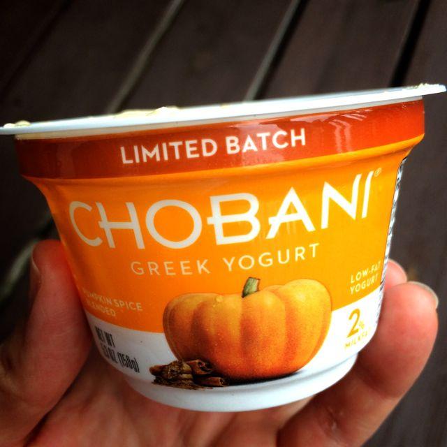 Pumpkin Chobani