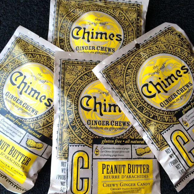 PB Ginger Chews
