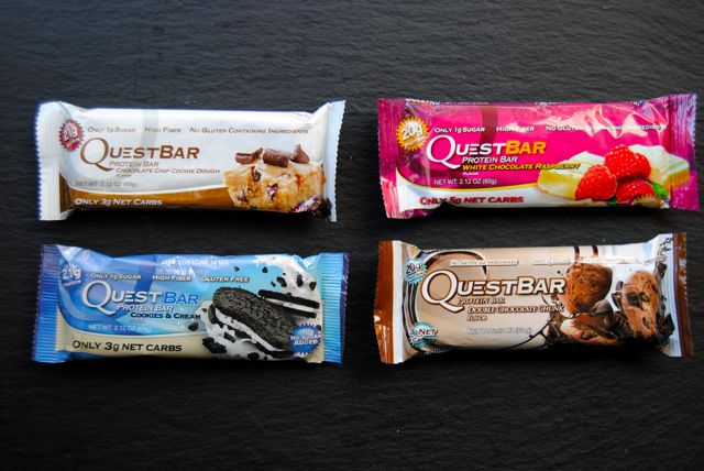 Favorite Quest Bars