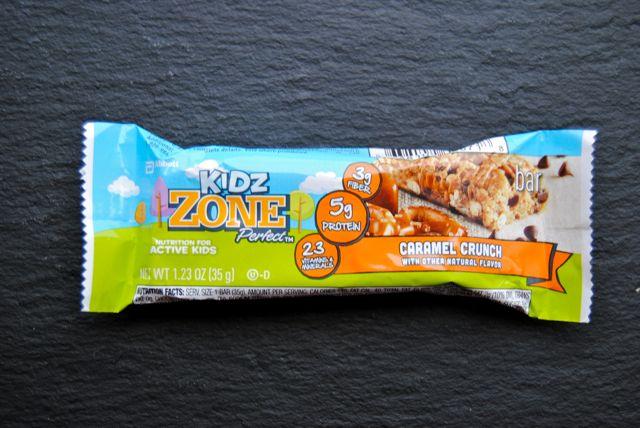 Kidz Zone Caramel Crunch Bar