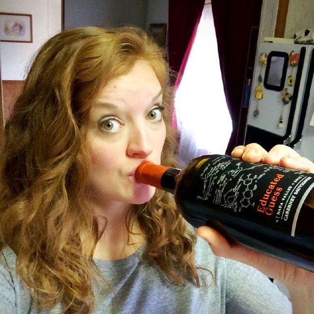 Wine O'Clock Selfie