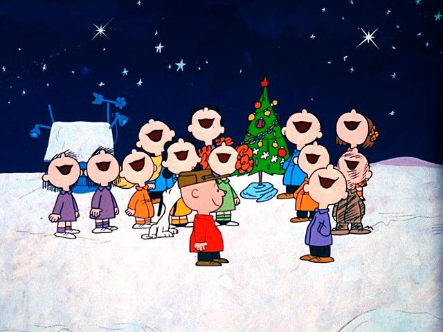 Charlie Brown Christmas Singing