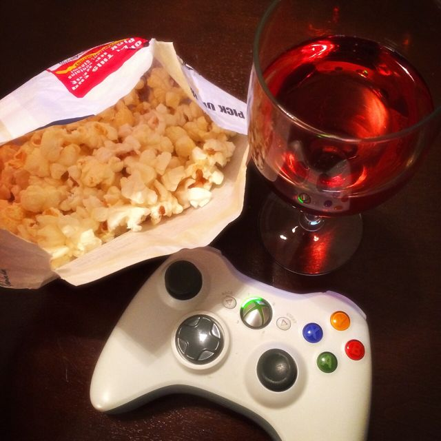 Wine, Popcorn & Netflix