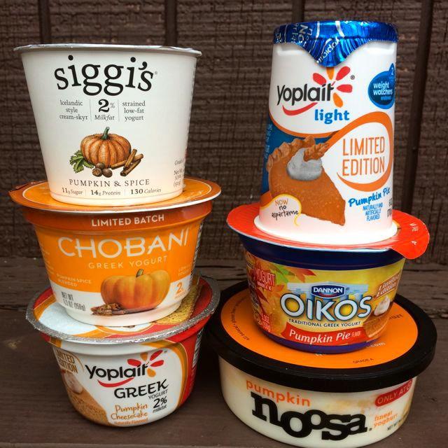 Foodie Friday - Pumpkin Yogurt