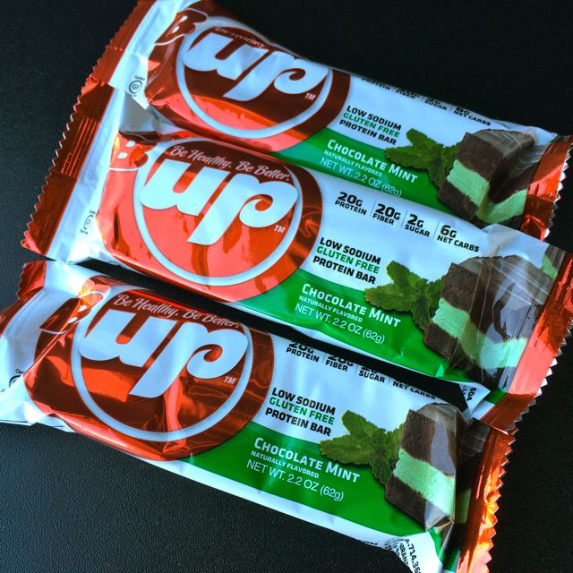 Chocolate Mint B-Up Bars
