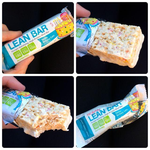 GNC Lean Bar - Birthday Cake