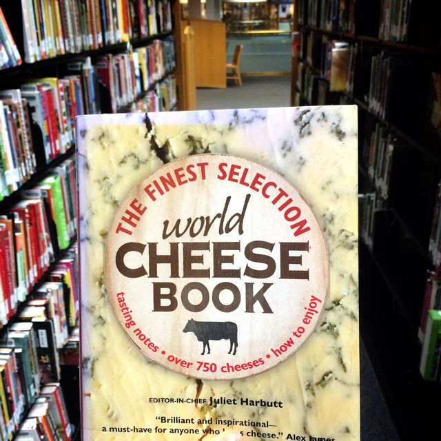 Library World Cheese Book