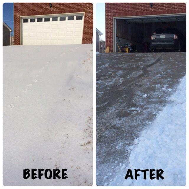 Snowpocalypse 2015- Driveway